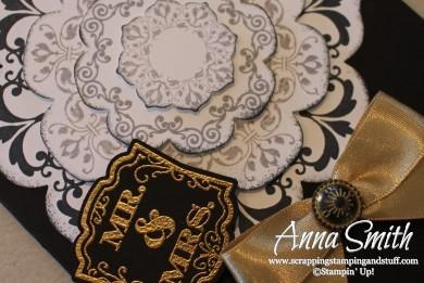 Daydream Medallions Wedding Card