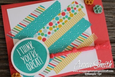 Stampin' Up! I Think You're Great