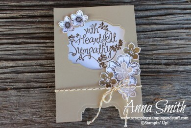 Heartfelt Sympathy Screen Card