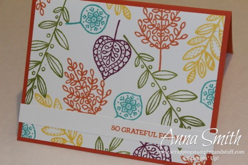 Stamp Set of the Month Lighthearted Leaves