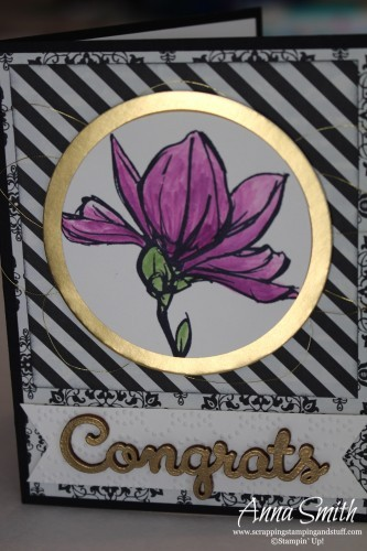 Remarkable You Anniversary Card using Stampin' Up! Remarkable You stamp set and Typeset designer paper#tgifc24