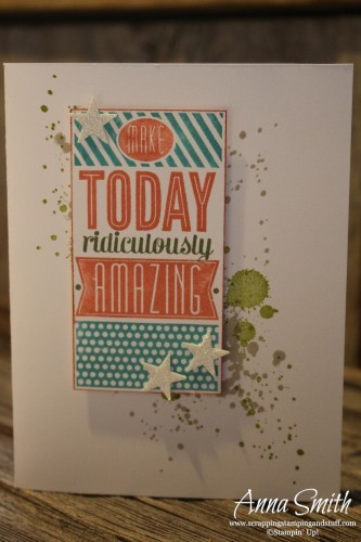Ridiculously Amazing Birthday Card Scrapping Stamping And Stuff