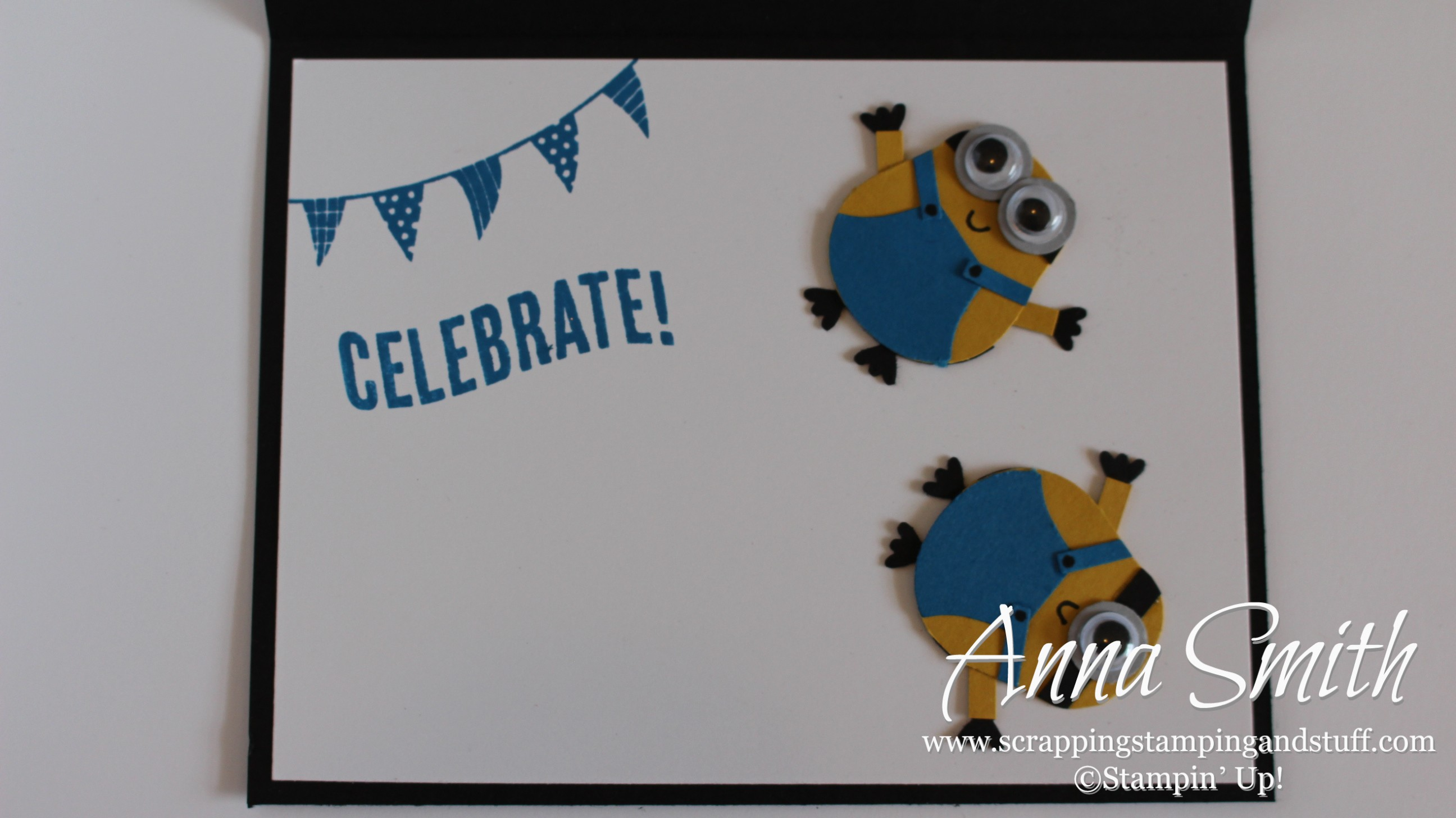 It s a Minion Birthday Card Scrapping Stamping and Stuff