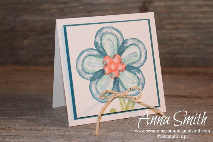 Balloon Builders Flower Card