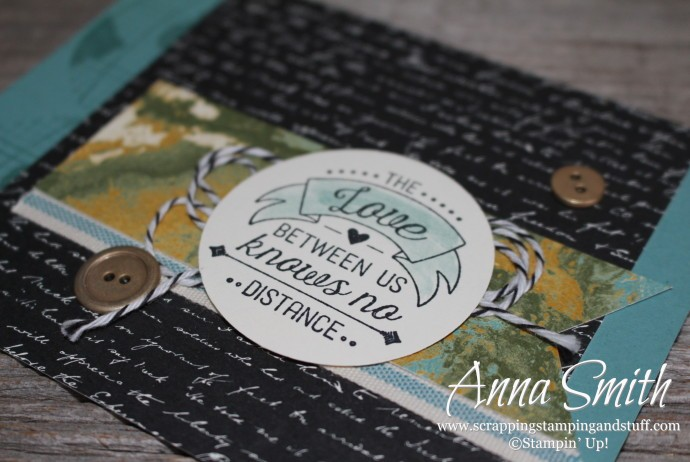 Stampin' Up! Going Global Card