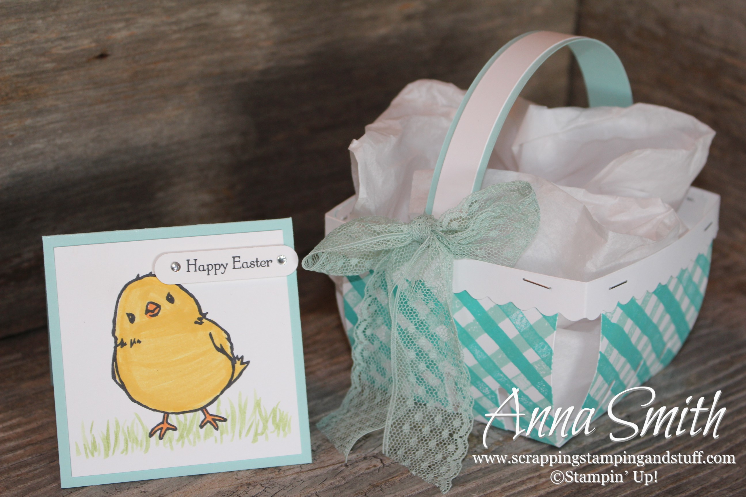 Osat blog hop spring has sprung easter card and basket scrapping