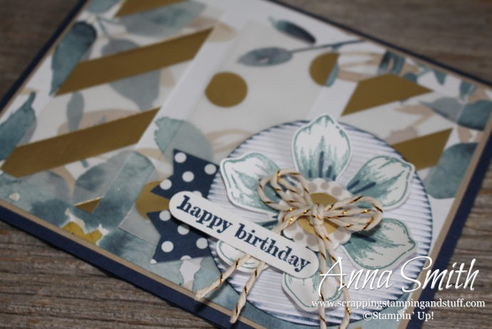 Stampin' Up! Retiring Product Showcase uses Beautiful Bunch and Something to Say stamp sets