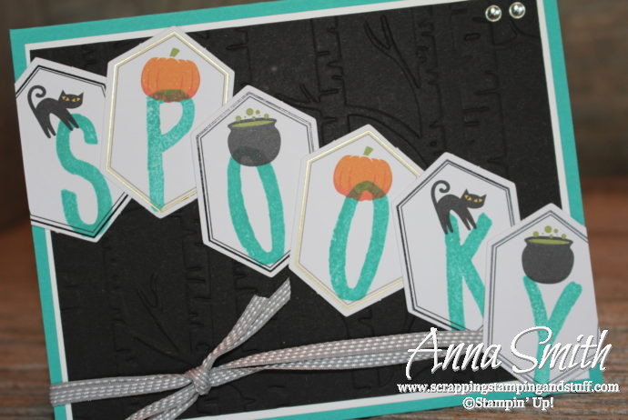 September 2016 Paper Pumpkin - Something Good to Eat - Alternative Project Spooky Halloween Card