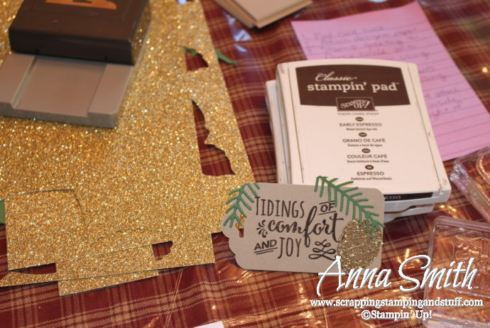 Projects from my Stampin' Up! thank you party for earning the incentive trip to Thailand