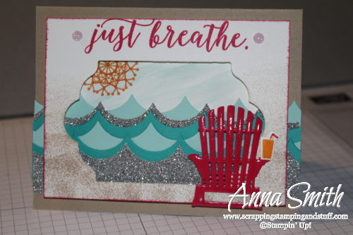 Stampin' Up! Colorful Seasons Beach Scene Card Tutorial