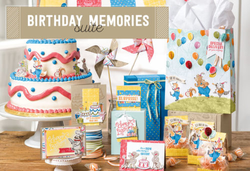 Stampin' Up! Birthday Memories Suite