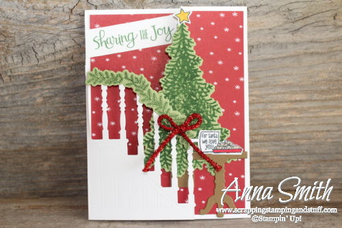 stampin up ready for christmas trifold christmas card with video tutorial - Stuff For Christmas