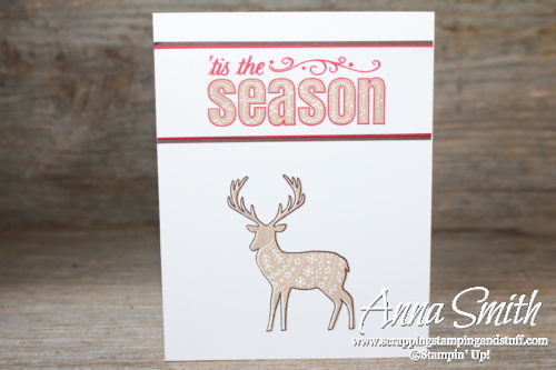 Earn the Stampin' Up! Merry Patterns hostess exclusive Christmas stamp set for free now through October 31!