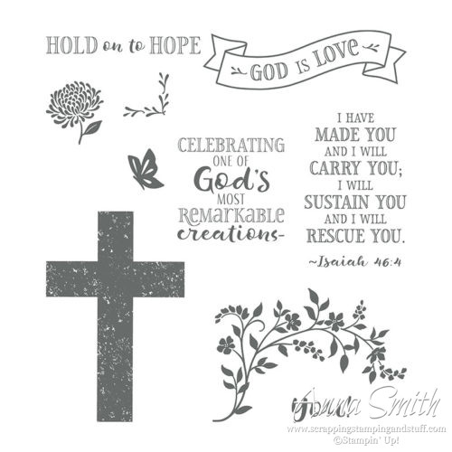 Stampin' Up! Hold On To Hope Stamp Set