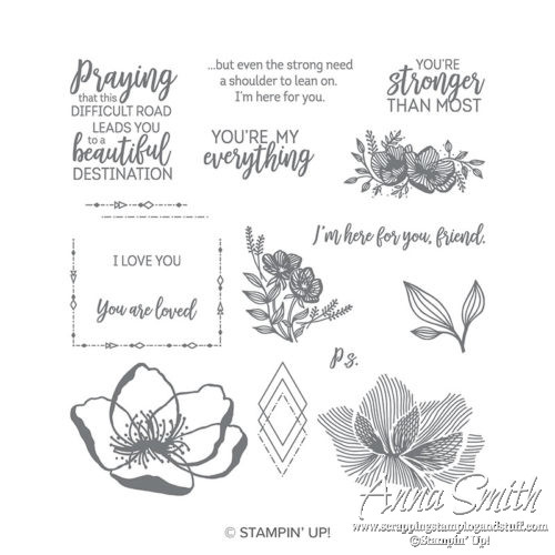 Stampin' Up! Beautiful Promenade Stamp Set for Thinking of You Cards