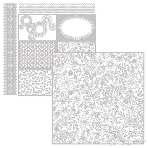 Stampin' Up! Delightfully Detailed Laser Cut Specialty Paper