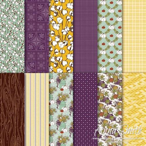 Stampin' Up! Country Lane Designer Series Paper