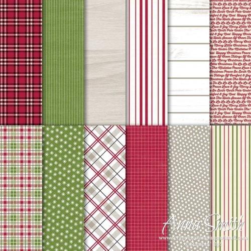 Stampin' Up! Festive Farmhouse Designer Series Paper