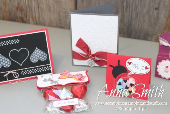 Stampin' Up! Valentine's Ideas