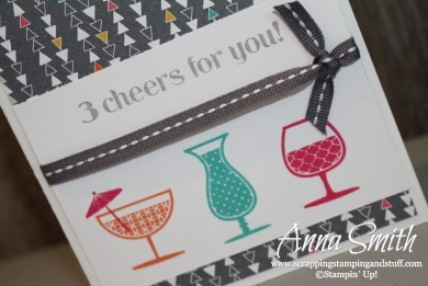 Stampin' Up! Cheers to You Birthday Card