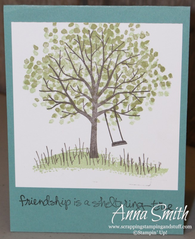 Sheltering Tree card