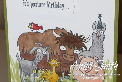 Stampin' Up From the Herd Stamp Set