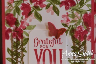 Painted Petals Mother's Day Card Stampin' Up!