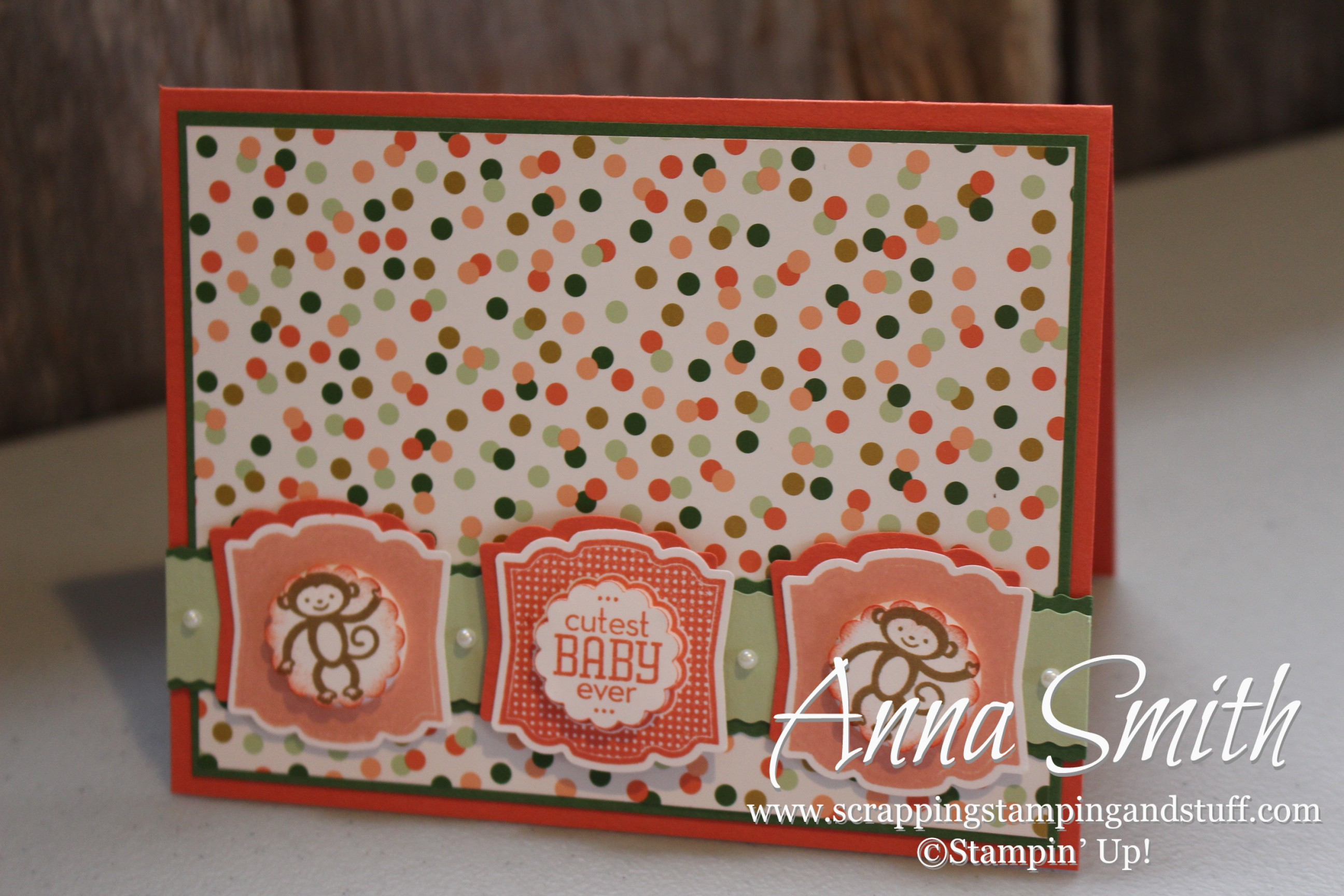 Label Love Baby Card