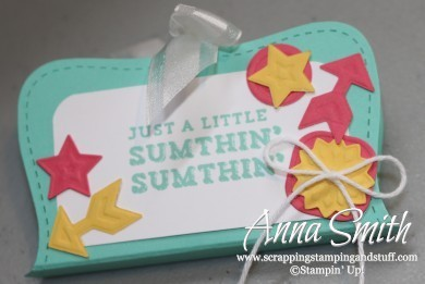Sumthin' Sumthin' Treat Holder Stampin' Up