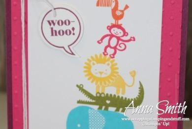 Zoo Babies Just Sayin' Card Stampin' Up!