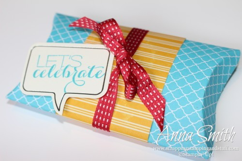 Stampin' Up! Sumthin' Sumthin' Gift Box