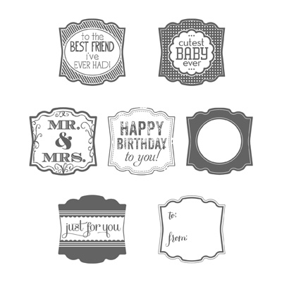 Label Love Stampin' Up!