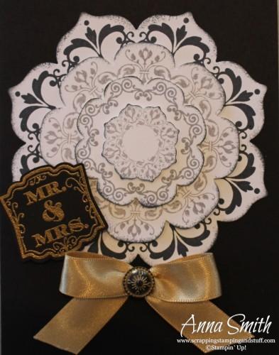 Floral Frames Wedding Card