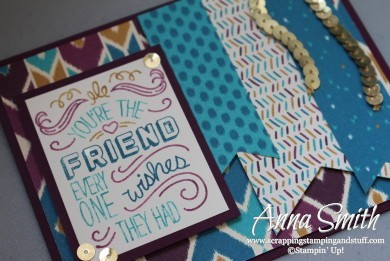 Bohemian Friendly Wishes Stampin' Up!