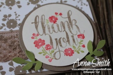 Stampin' Up! A Whole Lot of Lovely Card