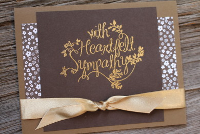 Stampin' Up! Heartfelt Sympathy
