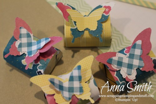 Butterfly Treats using Stampin' Up! Butterfly Punches