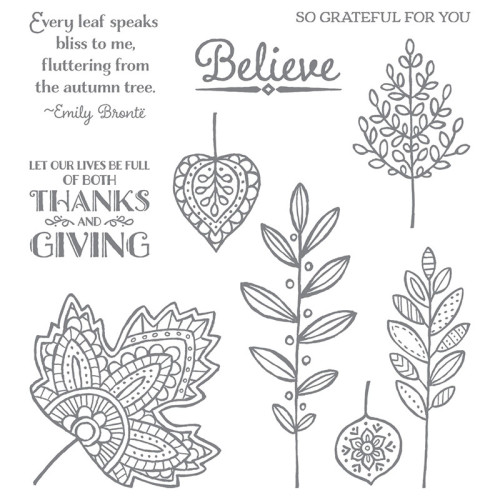 Lighthearted Leaves Stamp Set of the Month