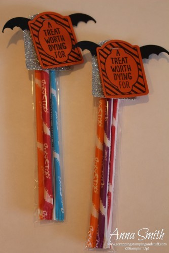 DIY Halloween Treats featuring Stampin' Up! products