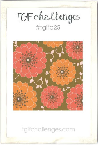 Flower Garden Card using Stampin' Up! Flower Patch stamp set and dies #tgifc25