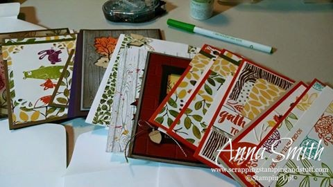 Stampin' Up! Customer Thank You Notes