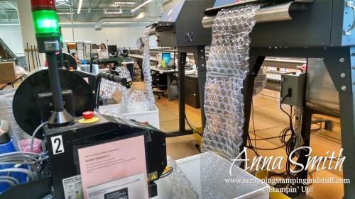 Get an inside look at the Stampin' Up! home office, from the call center to the distribution center, and some beautiful displays!