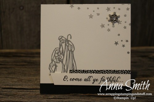 All Ye Faithful Christmas Cards with nativity scenes