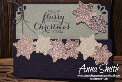Flurry of Wishes Christmas Card Stampin' Up!