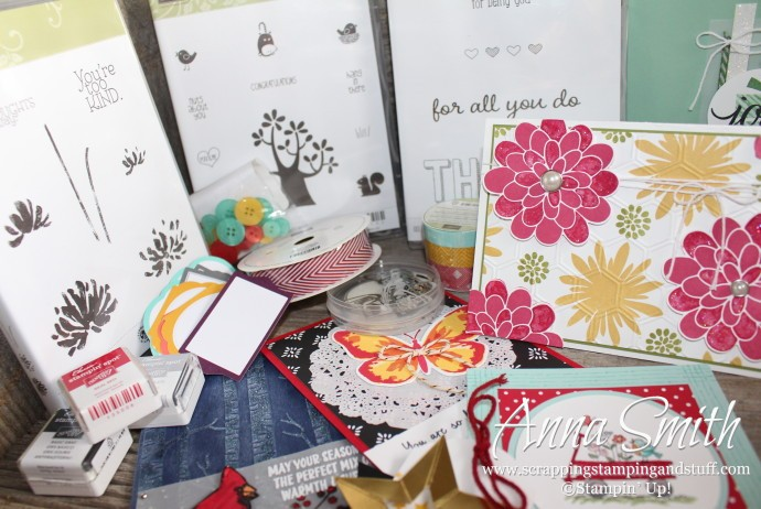 What fun things will be in your goodie bag when you place a Stampin' Up! order from me this week???