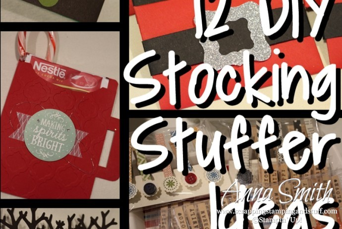 DIY Stocking Stuffer ideas for anyone using Stampin' Up! products