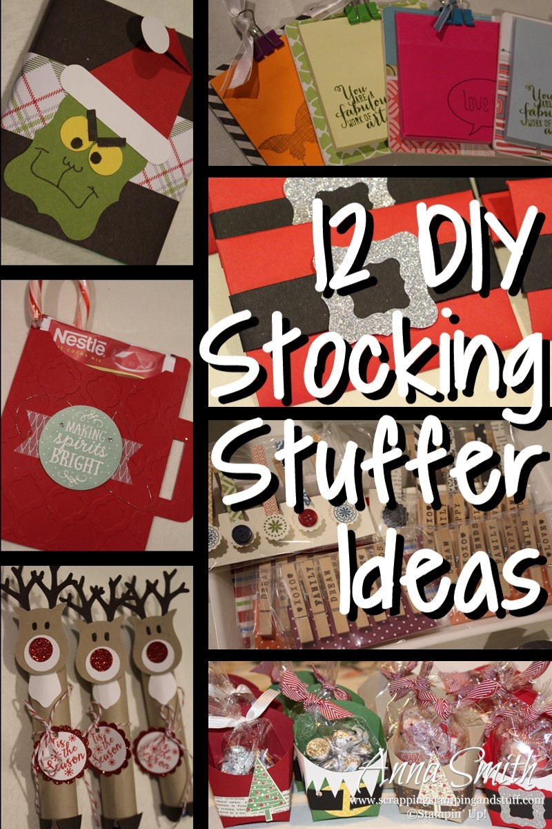 12 Diy Stocking Stuffer Ideas Scrapping Stamping And Stuff
