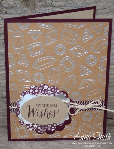 Shine On Card Set made with Stampin' Up! Shine On specialty paper and Rose Wonder stamp set