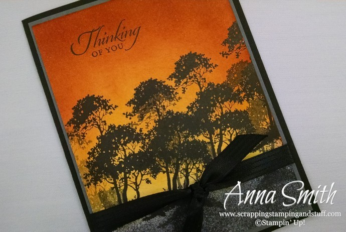 Serene Silhouettes Thinking of You Card