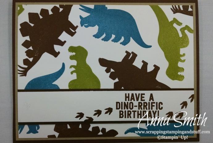 No Bones About It Boys Dinosaur Birthday Card